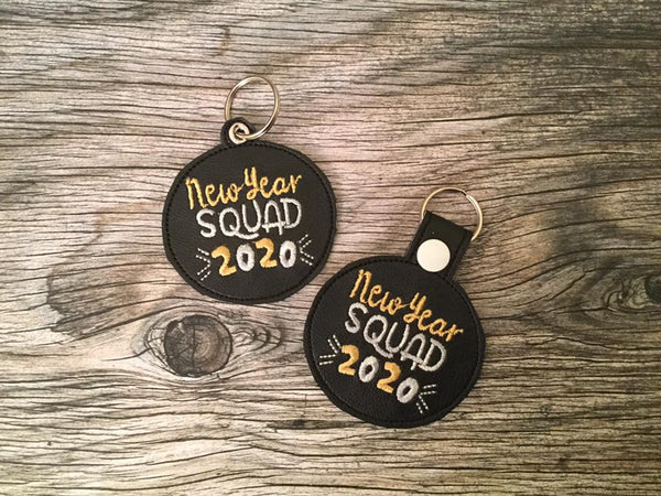 New Year Squad 2020 Key Fob