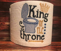King of the Throne Toilet Paper