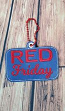 RED Friday Key Fob