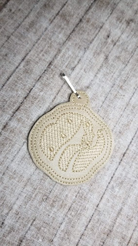 Shortbread Cookie Key Fob