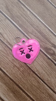 Emoji Heart Sleep Key Fob - 2 styles