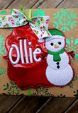 Snowman Package Tag
