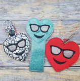Emoji Heart Sunglasses Bookmark