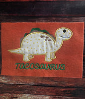 Tacosaurus Applique