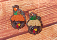 Winking Turkey Key Fob