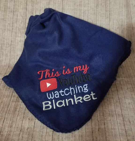 YouTube Watching Blanket 5x7 ONLY
