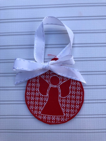 Christmas Motif Angel Ornament