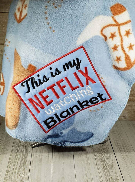 Netflix Watching Blanket 8x8 ONLY