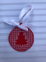 Christmas Tree Motif Ornament