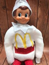 McD Elf Sweater