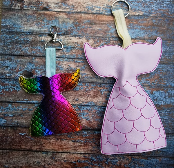 Mermaid Tail Key Keeper - 2 Sizes