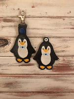 Penguin Man Key Fob