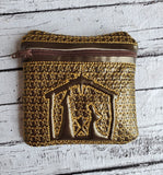 ITH Nativity Zip Bag