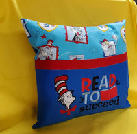 Read to succeed Reading Pillow