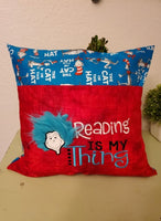 Reading is my thing Reading Pillow