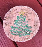 Christmas Coaster Set of 6 - 4x4 ONLY