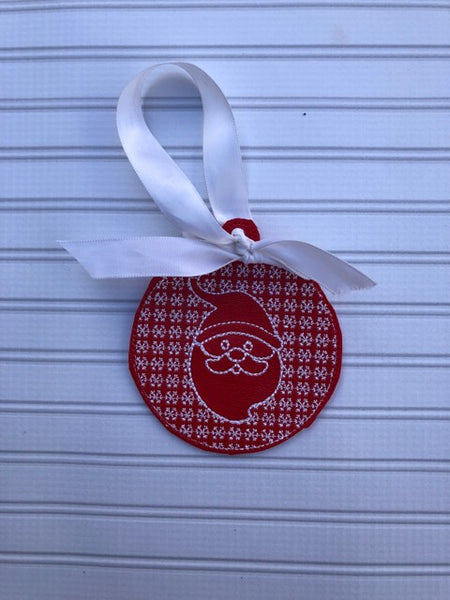 Christmas Santa Claus Motif Ornament