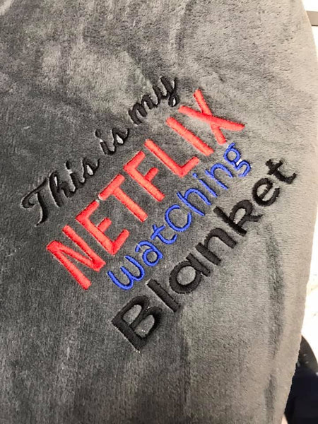 Netflix Watching Blanket 7x12 ONLY