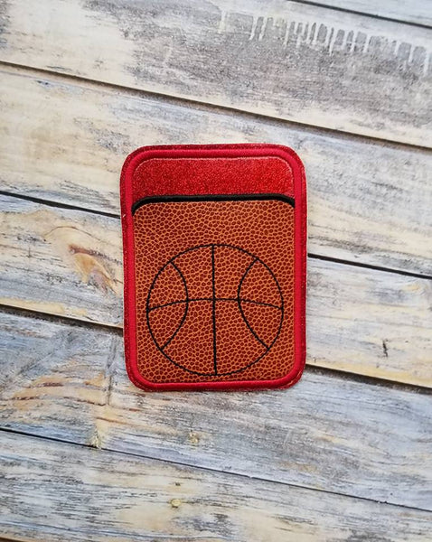 Credit Card Holder Basketball