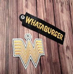 Whata Burger Key Fob Set