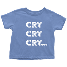 Cry Cry Cry Toddler
