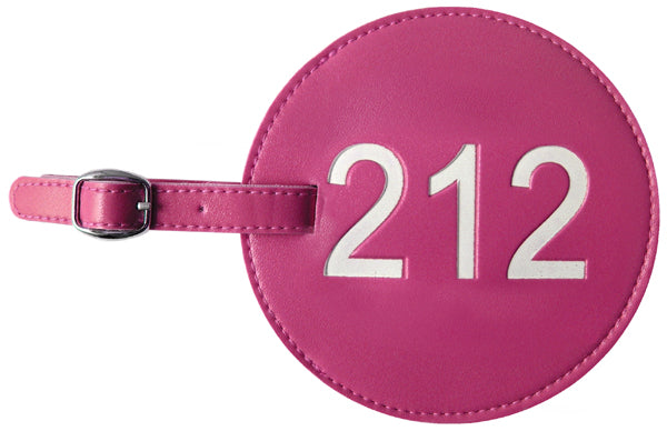 212 Area Code Luggage Tags (Set of 2)