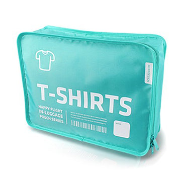 Alife Design T Shirt Packing Cubes Organizers