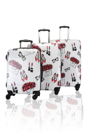 VUE  LUGGAGE COLLECTION . UPTOWN 3PCS LUGGAGE SET