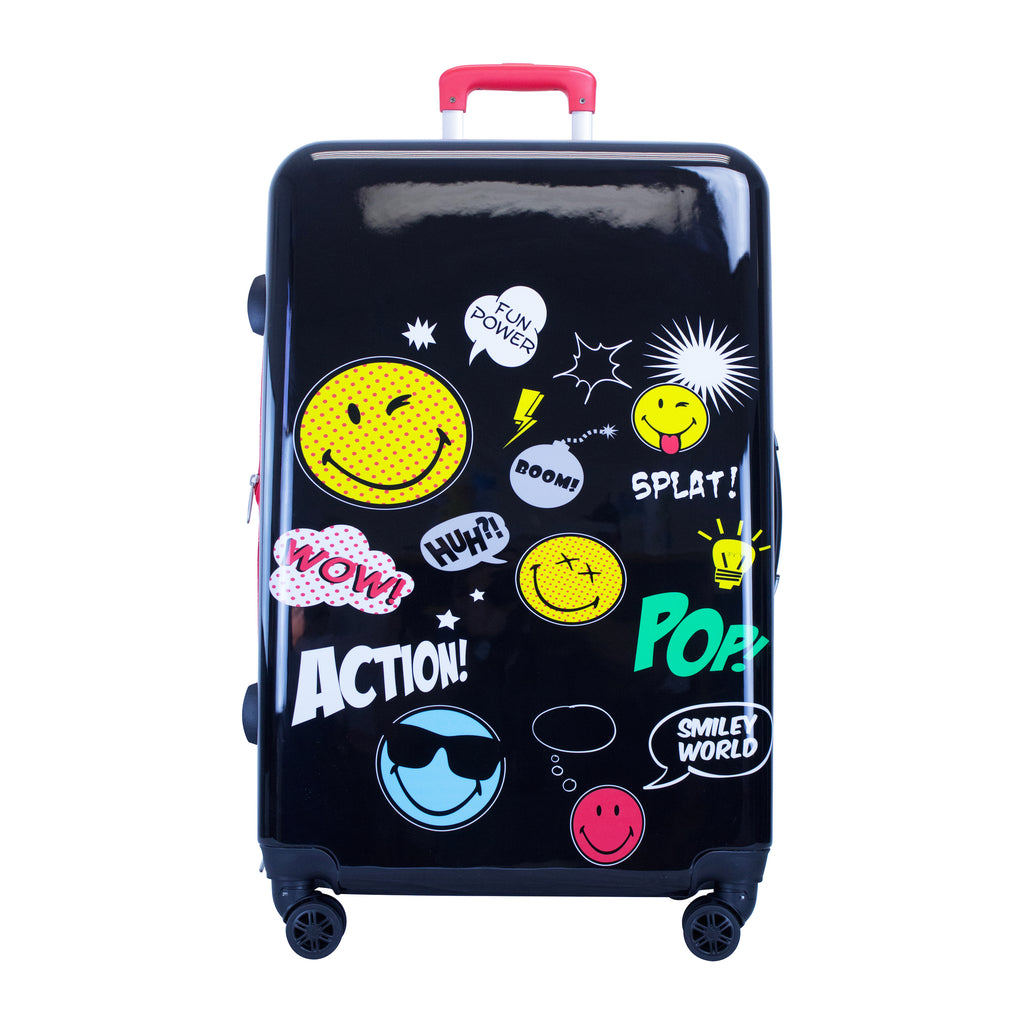 SMILEY POP 3PCS LUGGAGE