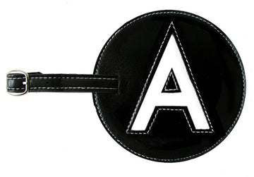 Initial 'A' Luggage Tag