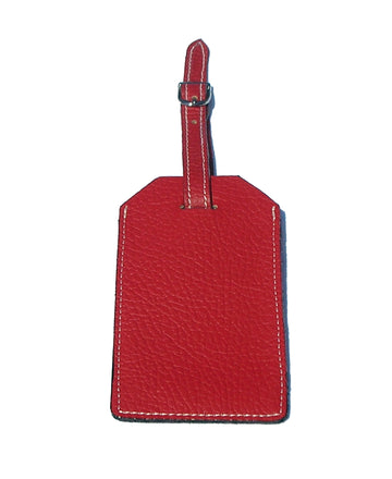 LUGGAGE TAG ITALIAN LEATHER