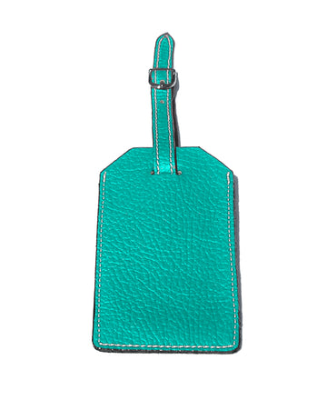 LUGGAGE TAG ITALIAN LEATHER.