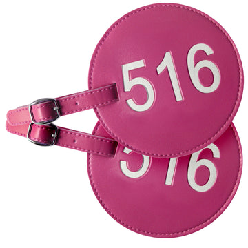 516 Area Code Luggage Tags (Set of 2)