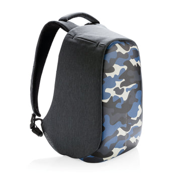 XD-DESIGN . Bobby Anti-Theft Backpack Compact. CAMOUFLAGE BLUE