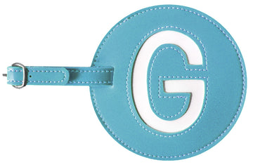 Initial 'G' Luggage Tag (Set of 2)