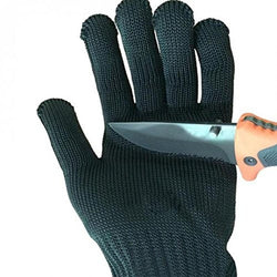 TLK® BLACK CUT-RESISTANT WORKING GLOVES