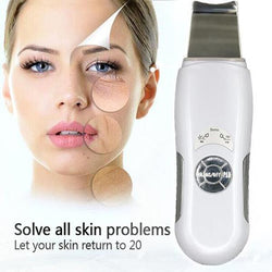 ULTIMATE Ultrasonic Skin Scrubber Facial Machine