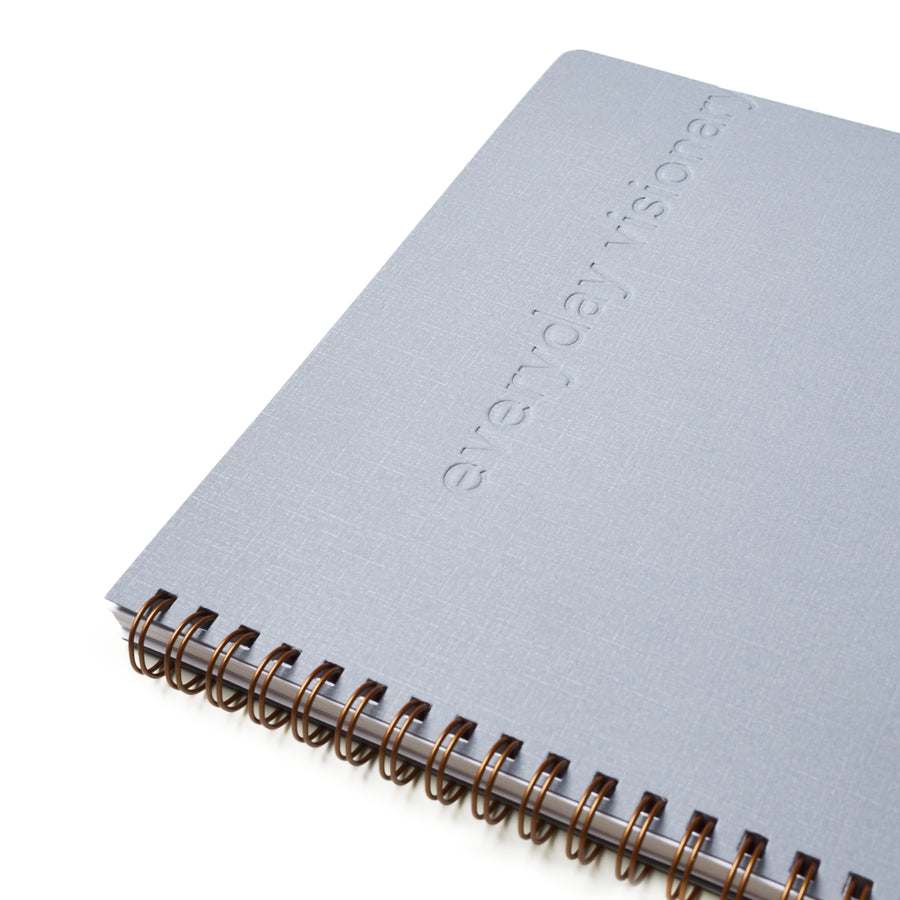 Everyday Visionary Planner by ZerModus - grey - close up