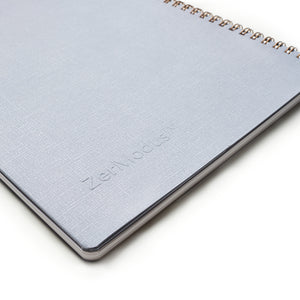 Everyday Visionary Planner by ZerModus - grey - close up back cover
