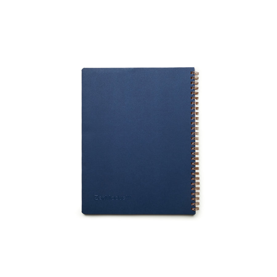 Everyday Visionary Planner by ZerModus - Navy - back cover
