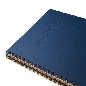 Everyday Visionary Planner by ZerModus - Navy - close up