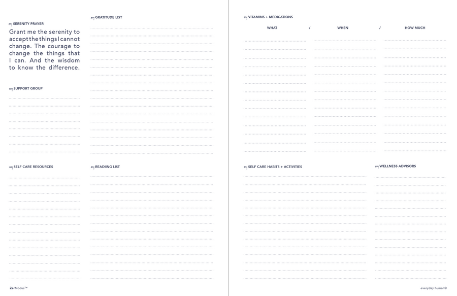 Everyday Human Planner PDF Download by ZerModus