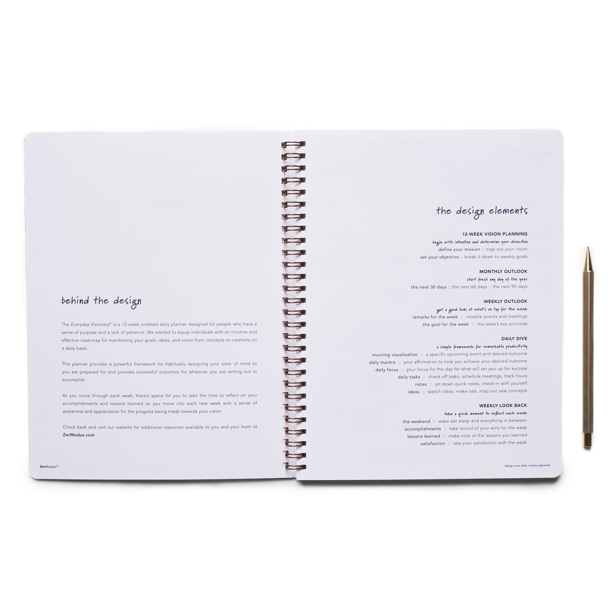 Everyday Visionary | Planner - Navy