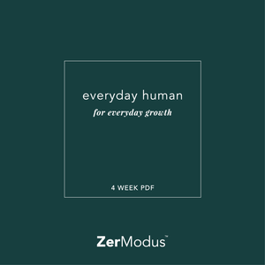 Everyday Human | 1 Month PDF