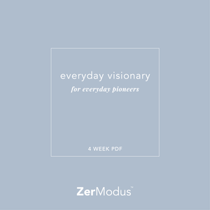 Everyday Visionary Planner PDF Download by ZerModus