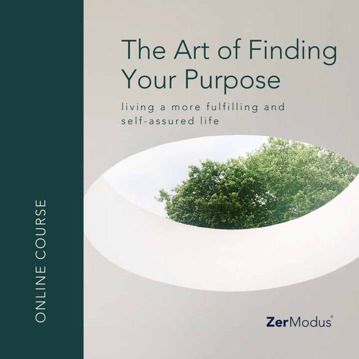 PRE-ORDER | ONLINE COURSE | The Art of Finding Your Purpose: Living a more fulfilling and self-assured life