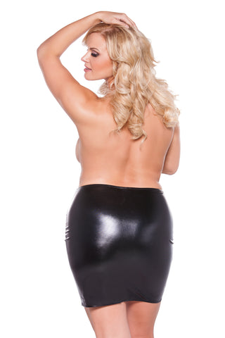 Smoking Hot Plus Size Sexy Siren Skirt Queen Plus Size Allure Lingerie Kitten Plus 1X 2X 3X