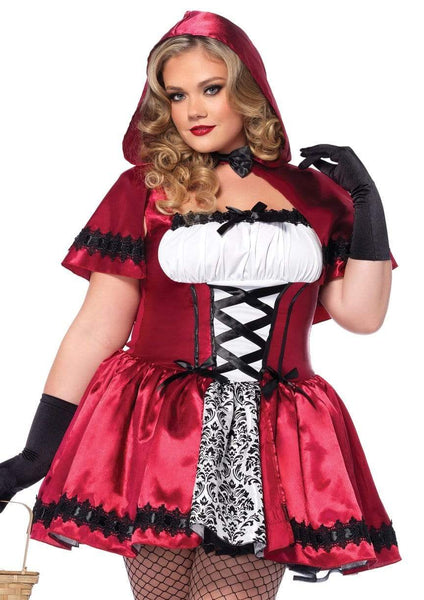 Plus Size Lil Red Ridding Hood Halloween Costume 1X/2X 3X/4X 85230X Little Red