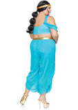 Plus Size Sexy Jasmin Inspired Princess Halloween Costume - Desert Princess 1X/2X - 3X/4X86818X