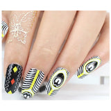 12 Trendy Tribal Minimalist Hippie Feather Nail Wrap Decals Sticker Salon Quality Nail Art - 1 Sheet